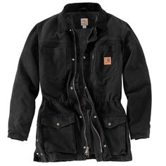 Carhartt Men's Black Canyon Coat