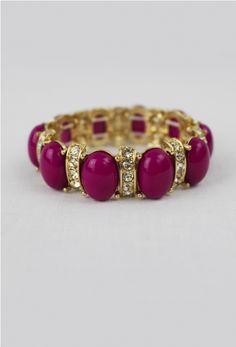 Oval Bracelet in Boudreaux