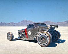 Scott Roberson Concept Artist - Future Hot Rod Art