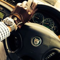 Jaguar - Links of London - Driving Gloves - Tag Heuer F1