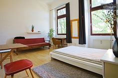 fully furnished 1 room apartment in Berlin