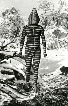 成田亨 ダダの元ネタ。 Selk'nam/Ona, Hain initiation ceremony spirits, Patagonia.