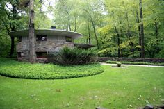 Friedman house. Pleasantville, New York. 1948. Usonian Style. Frank Lloyd Wright..