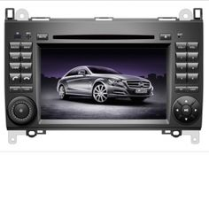 "7"" Benz B-Class W245 DVD Player with  touch screen, USB, SD, AM/FM radio, Bluetooth, Ipod, GPS map with 2G SD card"