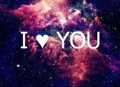 Image for i love you galaxy