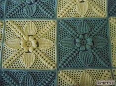 Charity Sewing Idea – How To Generate A Garment Address – By Zazok Crochet Motif Patterns, Granny Square Crochet Pattern, Crochet Squares, Crochet Designs, Crochet Stitches, Crochet Quilt, Crochet Pillow, Baby Blanket Crochet, Crochet Baby