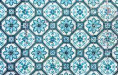 Azulejos, telhas portuguesas tradicionais Imagem de Stock