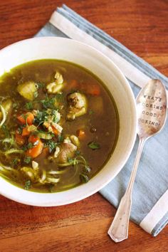 Thermomix recipe: Chicken Zoodle Soup · Tenina.com