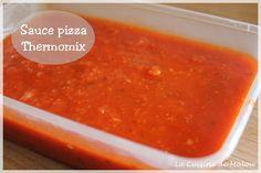 recette-sauce-pizza-thermomix Cooking Fails, Cooking Recipes, Pizza Thermomix, Tupperware, Sauce Tomate Pizza, Cooking Ribeye Steak, Bechamel, Tzatziki, Kitchenette