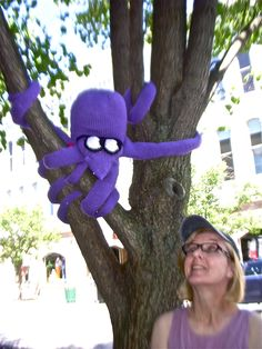 squid in a tree