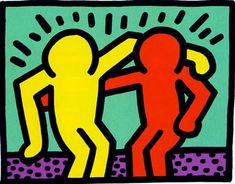 Keith Haring (Reading, 4 de maio de 1958 – Nova Iorque, 16 de fevereiro de 1990) foi um artista gráfico e activista estadunidense. Seu trabalho reflete a cultura nova-iorquina dos anos 1980.  Nascido no estado de Pensilvânia, desde cedo mostrou interesse pelas artes plásticas. Do ano 1976 até o ano 1978 estudou design gráfico numa escola de arte em Pittsburgh. Antes de acabar o curso, transferiu-se para Nova Iorque, onde seria grandemente influenciado pelos graffitis, inscrevendo-se na…