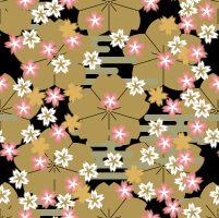 Japanese pattern - Sakura