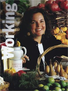 Ina Garten...From Martha Stewart Living - the first issue in 1990