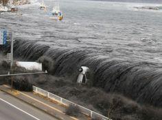 Japon - Le 11 mars 2011, le tsunami frappe la ville de Miyako
