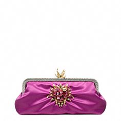 Tony Duquette Collaboration with Coach- Flaming Heart Clutch