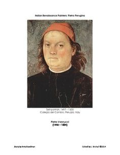 The Italian Renaissance painter Pietro Perugino is featured is this eight page story edited for the classroom. $