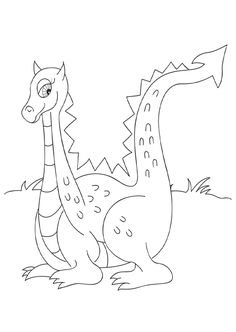 Dragon coloring pages dragons mythical creatures by MishMashArt