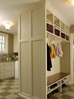 Laundry Room Bench Ideas