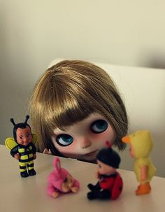 Blythe Doll with toys