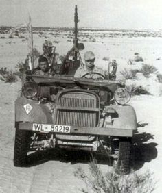 Fallschirmjager Ramcke Brigade - North Africa, pin by Paolo Marzioli