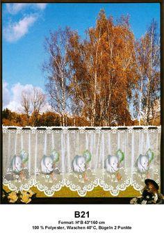 B21: Kurzgardinen Scheibengardinen Bistrogardinen Panneaux Landhausgardinen  Set