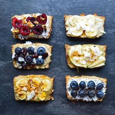 Coconut Banana Bread With Fresh Fruit via @feedfeed on https://thefeedfeed.com/plant_fueled/coconut-banana-bread-with-fresh-fruit
