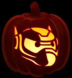 Baymax pumpkin carving