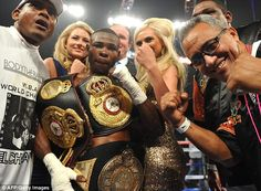 He has won all 17 of his professional fights and is the current WBA super-bantamweight king
