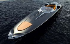 The IF60 Luxury Powerboat by Hermes & Zeus Design measures 60 feet (18.3m) long, is 13 feet (4m) wide and can reach max speed of 90 knots.The IF60 Luxury Powerboat by Hermes & Zeus Design a twin-stepped bottom V-hull
