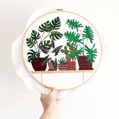 embroidery art by Sarah Benning Contemporary Embroidery