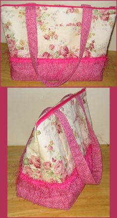 Would be a nice beach bag to make in a floral or plaid oil cloth...  PatternMart.com