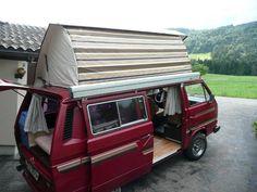 VW Bus T3 Cassandra Camper mieten in Schwyz kaufen über private ...