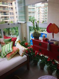 Tropical Christmas's decoration in Barra da Tijuca -Rio de Janeiro (by Luiza Laera)