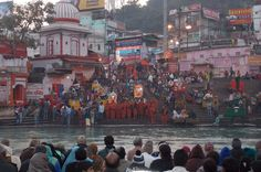 Private Tour: Haridwar Sightseeing Day Tour and Ganges River Puja Ceremony This full-day private tour of Haridwar takes you to points of interest with a personal guide. The customizable itinerary includes Bara Bazaar, Mansa Devi Temple (by cable car), Daksha Mahadev Temple, Jain Temple, and Shantikunj Ashram. In the evening, visit Har Ki Pauri to witness a Ganga Aarti, a ceremony that includes your own flower offering to the Ganges River and a 'puja,' or prayer ritual, led by ...