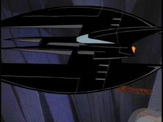 The Batplane. A powerful and silent plane, the Batplane is Batman's main mode of aerial transport.