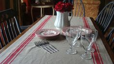 The Decorating Diaries: ~Faux French Linen~