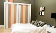 Un dormitorio por pequeño que sea necesita un armario para mantener las cosas…
