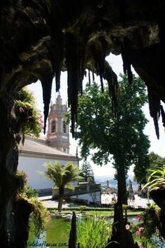The Sanctuary of Bom Jesus do Monte in Braga - Portugal on lutetiaflaviae.com