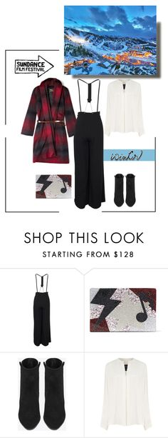 """""""Passepartout"""" by closertocris ❤ liked on Polyvore featuring Karl Lagerfeld, Yves Saint Laurent and Derek Lam"""