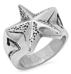 Nautical Star Ring. #skull #skulljewelery #forher #giftforher #women #gift #jewelery #ring #motorsangin #superbike #suzuki