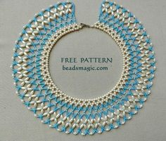 Free pattern for necklace Aphrodite | Beads Magic