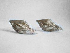 bronze stud earrings - marmod8 - www.marmod8.com