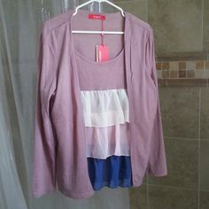 Purse cake blouses Purse blouses fit size 12-14 Tops