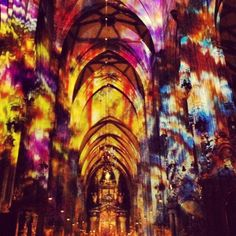 Stephansdom/St. Stephen's Cathedral Vienna, Austria, Cathedral, Architecture, Places, Painting, Arquitetura, Painting Art, Cathedrals