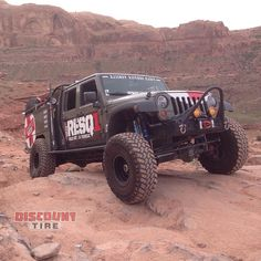 In Early 2014 RESQ1 Teamed Up With Treadlightly! And A Number Of Other  Sponsors For · Discount TiresJEEP ...