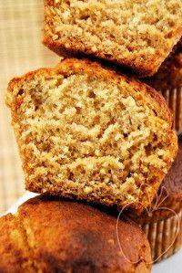 Muffins integrales de mijo y miel Whole millet and honey muffins Muffins complets au millet et au miel