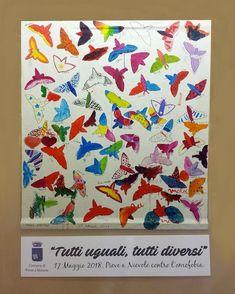 #andreamattiello #pievedartista #ombrenomadi #tuttiugualituttidiversi #17maggio2018 #stopomofobia