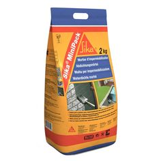 Sika® MiniPack Impermeabilización - Sika®  MiniPack Mortero Impermeabilizante es un mortero impermeabilizante monocomponente listo para usar y al que sólo hay que añadirle agua.