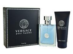 cc7dc004ef28 Versace Pour Homme Men Gift Set (Eau De Toilette Spray, Hair and Body  Shampoo