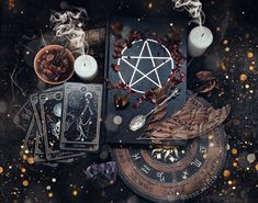 personal aesthetic request: four elements, tarot and crystal more here // request here Magia Elemental, Images Esthétiques, Dark Witch, Wicca Witchcraft, Magick Book, Season Of The Witch, Modern Witch, Witch Aesthetic, Aesthetic Photo
